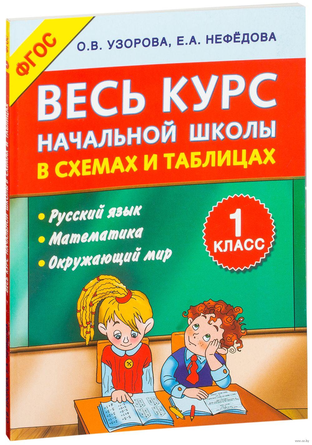 Весь курс начальной школы в схемах и таблицах. 2 класс. Русский язык, математика, окружающий мир