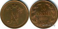 10 пенни 1909