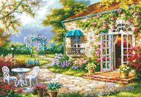"""Вышивка крестом """"Цветущий сад"""""""
