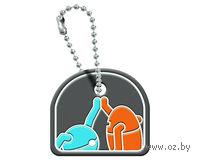 Портал 2  Атлас и Пи-боди, декоративный чехол на ключ