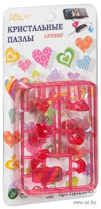 """Пазл-брелок """"3D Crystal Puzzle. Сердце"""" (14 элементов)"""