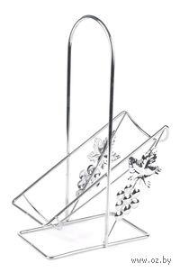 Подставка для бутылки металлическая декоративная (19,5х10х27,8 см)