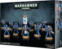 "Набор миниатюр ""Warhammer 40.000. Space Marine Tactical Squad"" (48-07)"