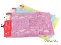 Набор ковриков текстильных (2 шт.; 40х60/40х40 см; арт. S-0051)