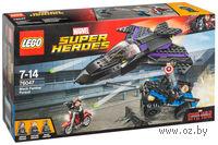 """LEGO Super Heroes """"Преследование Черной Пантеры"""""""