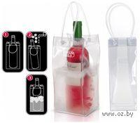 Сумка для охлаждения бутылки пластмассовая (255х105х105 мм)