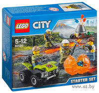 """LEGO City """"Набор для начинающих: Исследователи вулканов"""""""