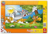 """Пазл """"Том и Джерри. Похищение сыра"""" (15 элементов)"""