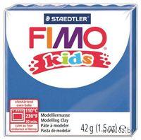"Глина полимерная ""FIMO Kids"" (синий; 42 г)"