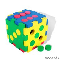 "Развивающая игрушка ""Кубик-домино"""