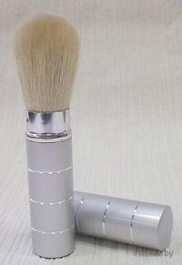Кисточка для макияжа пластмассовая (12,3 см, арт. MH-042-3)