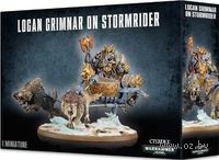 "Набор миниатюр ""Warhammer 40.000. Space Wolves Logan Grimnar on Stormrider"" (53-13)"
