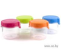 Банка для сыпучих продуктов пластмассовая (0,7 л, арт. 557816)