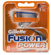 Кассета для станков для бритья Gillette FUSION Power (8 штук)