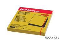 """Клейкая бумага для заметок """"NEON"""" (цвет: золотой)"""