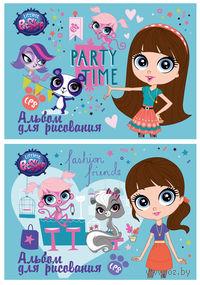 """Альбом """"Littlest Pet Shop"""" (А4; 20 листов)"""