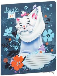 """Тетрадь в линейку """"Marie Cat"""" 12 листов"""