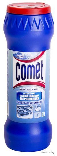 """Чистящий порошок COMET """"Океан"""" c хлоринолом в банке (475 г.)"""