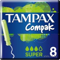 "Тампоны ""TAMPAX. Compak Super"" (8 шт)"