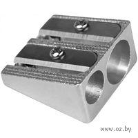 Точилка металлическая (2 отверстия)