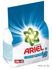 """Стиральный порошок Ariel Pro-ZIM 7 """"Lenor Effect"""" для автоматической стирки (1,5 кг)"""