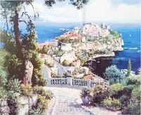 "Картина по номерам ""Княжеский дворец в Монако"" (400х500 мм)"
