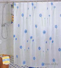 Занавес-шторка для ванной (180х180 см; арт. 261660)