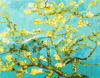 """Картина по номерам """"Ван Гог. Цветущий миндаль"""" (400x500 мм; арт. MG253)"""