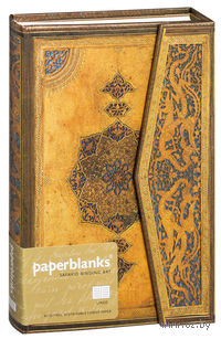 "Записная книжка Paperblanks ""Эпоха Сафавидов"" в линейку (формат: 130*180 мм, средний)"