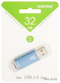 USB Flash Drive 32Gb SmartBuy V-Cut (Blue)