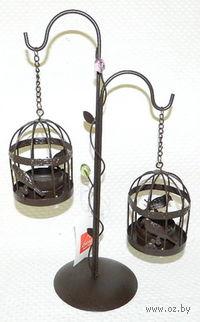 Подсвечник металлический (20*10*29 см, арт. 4280077)