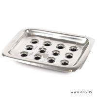 Подставка для мыла металлическая (14*11 см, арт. 51201)