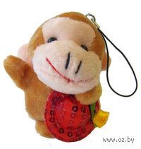 "Мягкая игрушка-брелок ""Обезьянка"" (арт. X7371)"