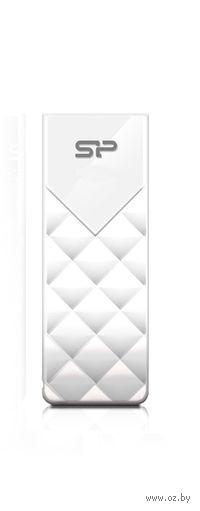 USB Flash Drive 8Gb Silicon Power Ultima U03 (White)