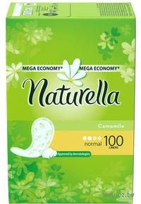 Женские гигиенические прокладки на каждый день NATURELLA Normal Deo (100 штук)