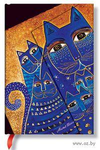 """Записная книжка Paperblanks """"Кошки Средиземноморья"""" в линейку (формат: 130*180 мм, средний)"""