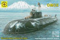 """Атомный подводный крейсер """"Омск"""" (масштаб: 1/700)"""