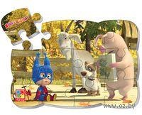 """Пазл магнитный """"Маша и Медведь"""" (12 элементов; арт. VT3205-51)"""