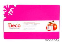 Доска разделочная пластмассовая (30*18,5*0,2 см, арт. HH3019PP)