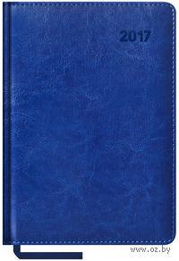 """Ежедневник датированный """"Sarif"""", 2017 (А5; 176 листов; синий)"""