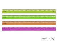 Линейка пластиковая Neon Cristal (40 см)