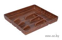 Лоток для столовых приборов пластмассовый (320х360 мм)