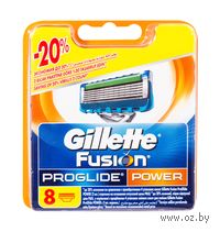 Кассета для станков для бритья Gillette PROGLIDE POWER (8 штук)