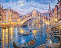 """Картина по номерам """"Венецианская ночь"""" (400х500 мм)"""