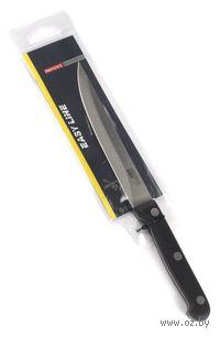 Нож кухонный металлический с пластмассовой ручкой (22,5/12,5 см)