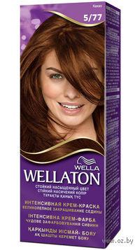 """Крем-краска для волос Wellaton """"Интенсивная"""" 5/77 (Какао)"""