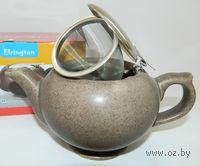 Чайник керамический с металлическим ситом (450 мл; арт. FJH10038-A202)