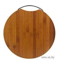 Доска разделочная бамбуковая (28*28*1,8 см, арт. 4610008)