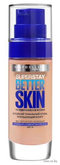 """Тональный крем для лица """"SuperStay. Better Skin"""" (тон: 03, слоновая кость; 30 мл)"""