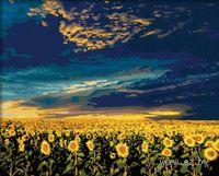 "Картина по номерам ""Подсолнухи"" (400x500 мм; арт. MG042)"